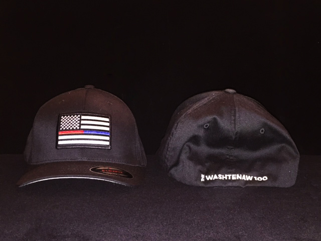 Washtenaw 100 Black Baseball Hat