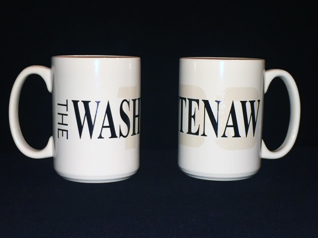 Washtenaw 100 Coffee Mug - Left and Right Side