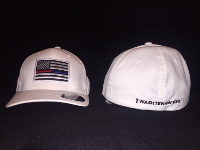 Washtenaw 100 White Baseball Hat