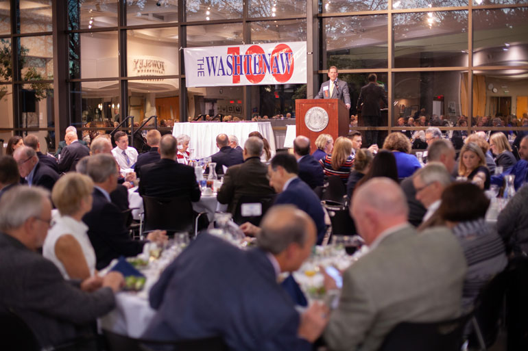 Washtenaw 100 Awards Dinner 2019