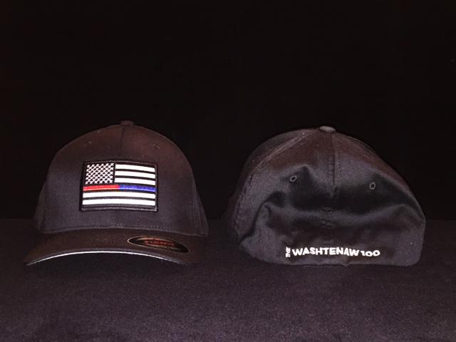 Washtenaw 100 Black Baseball Hat