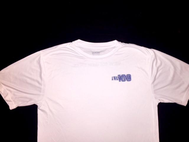 Washtenaw 100 White T-Shirt