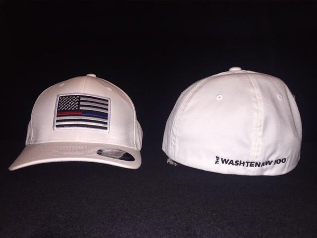 Washtenaw 100 White Baseball Hat